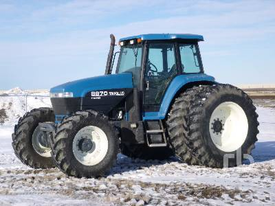 1995 NEW HOLLAND 8970 MFWD Tractor