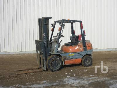 1995 TOYOTA 62-6FDU30 6000 Lb Forklift