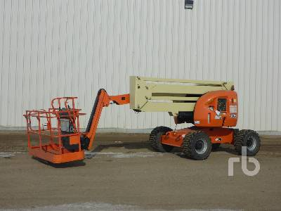 2009 JLG 450AJ SERIES II 4x4 Articulated Boom Lift
