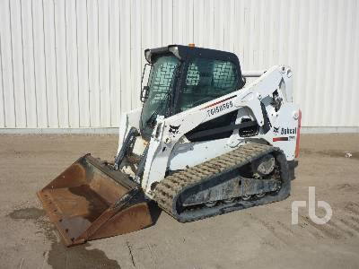 2012 BOBCAT T650 Multi Terrain Loader