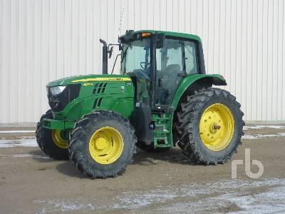 2017 JOHN DEERE 6130M MFWD Tractor