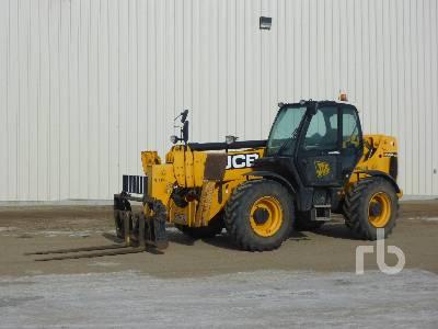 2012 JCB 550-170 10000 Lb 4x4x4 Telescopic Forklift