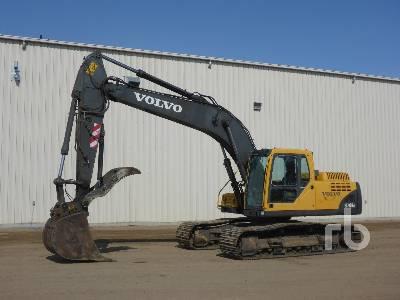 2005 VOLVO EC210B LC Hydraulic Excavator