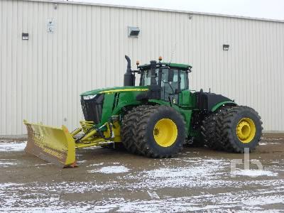 2018 JOHN DEERE 9570R 4WD Tractor