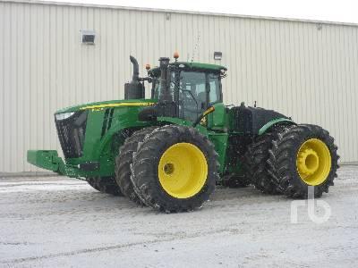 2018 JOHN DEERE 9620R 4WD Tractor