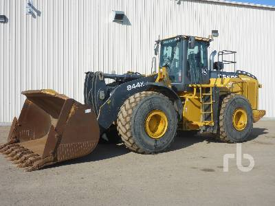 2012 JOHN DEERE 844K Series II Wheel Loader