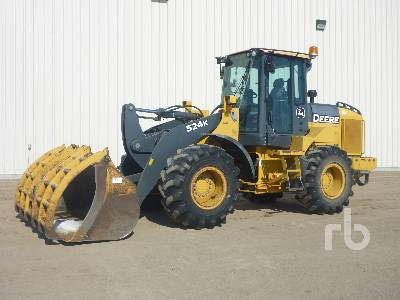 2011 JOHN DEERE 524K Wheel Loader
