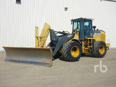 2007 JOHN DEERE 624J Wheel Loader