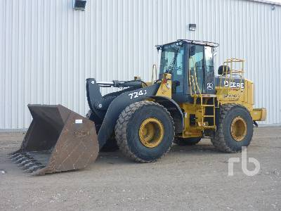 2006 JOHN DEERE 724J Wheel Loader