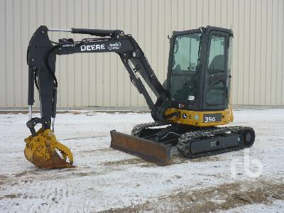 2017 JOHN DEERE 35G Mini Excavator (1 - 4.9 Tons)