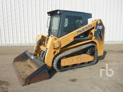 2012 MUSTANG 1750RT 2 Spd Multi Terrain Loader