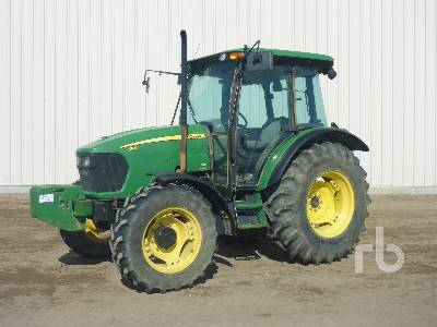 2009 JOHN DEERE 5101E MFWD Tractor