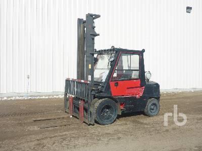 MITSUBISHI FG40 9000 lb Rough Terrain Forklift
