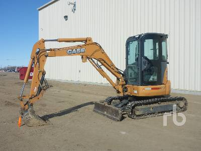 2015 CASE CX36B Mini Excavator (1 - 4.9 Tons)