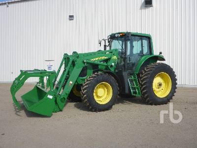 2009 JOHN DEERE 7430 Premium MFWD Tractor