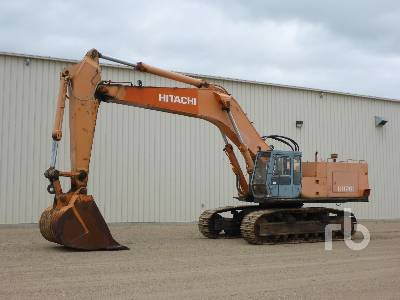 1986 HITACHI UH261 Hydraulic Excavator