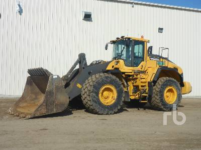 2014 VOLVO L220H Wheel Loader