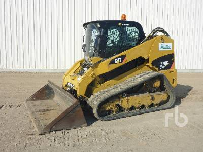 2011 CATERPILLAR 279C 2 Spd High Flow Multi Terrain Loader
