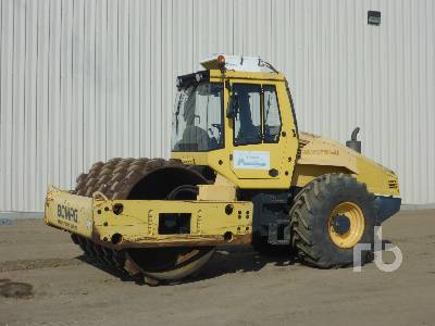 2009 BOMAG BW213PDH-40 Vibratory Padfoot Compactor