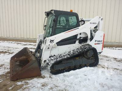 2016 BOBCAT T750 Multi Terrain Loader