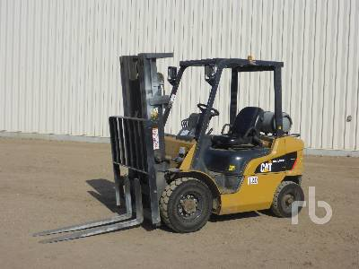 2011 CATERPILLAR 2P5000 3950 Lb Forklift