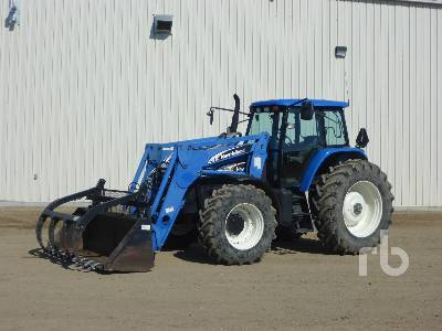 2006 NEW HOLLAND TM175 MFWD Tractor
