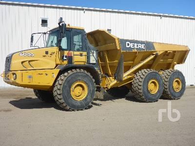 2011 JOHN DEERE 400D Articulated Dump Truck