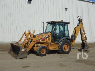 2006 CASE 580SM Series 2 Loader Backhoe