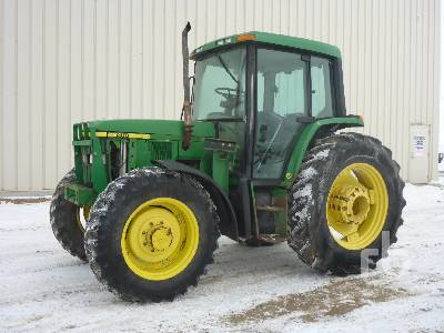 2001 JOHN DEERE 6410 MFWD Tractor