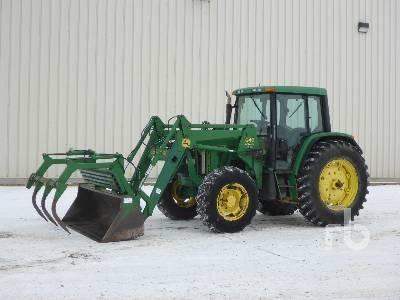 2000 JOHN DEERE 6410 MFWD Tractor