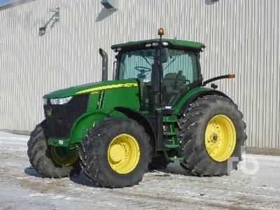 2011 JOHN DEERE 7215R MFWD Tractor