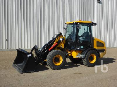 2017 JCB 407 Mini Wheel Loader