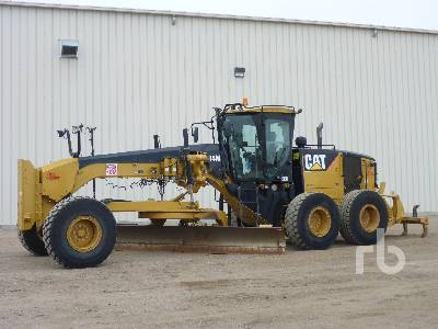 2010 CATERPILLAR 14M VHP Plus Motor Grader