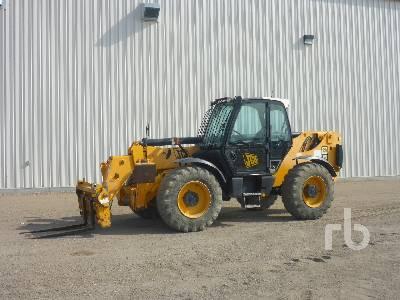 2008 JCB 550-140 10000 Lb 4x4x4 Telescopic Forklift