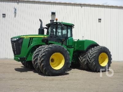 2015 JOHN DEERE 9620R 4WD Tractor
