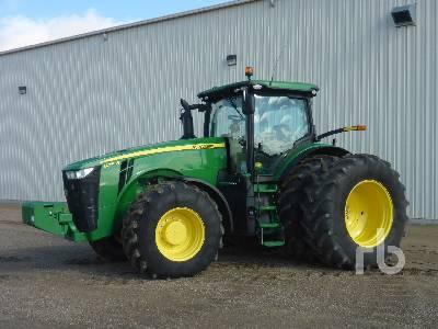 2014 JOHN DEERE 8345R MFWD Tractor