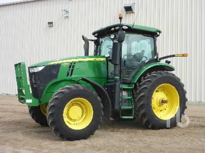 2013 JOHN DEERE 7215R MFWD Tractor