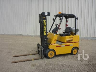 HYSTER 550E 10100 Lb Forklift
