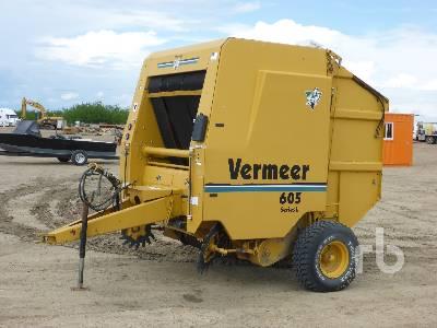 1999 VERMEER 605L Round Baler