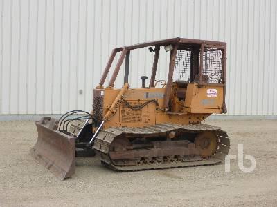 1989 CASE 450C Crawler Tractor