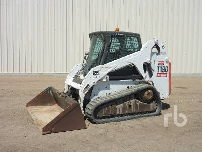 2010 BOBCAT T190 Multi Terrain Loader