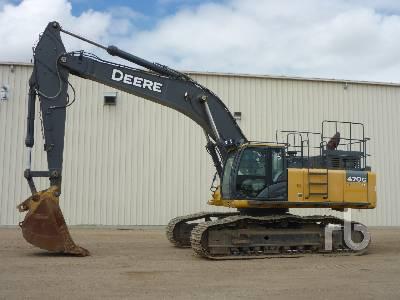2012 JOHN DEERE 470G LC Hydraulic Excavator