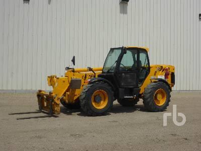 2005 JCB 550 10000 Lb 4x4x4 Telescopic Forklift