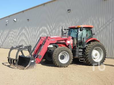 2008 CASE IH PUMA 165 MFWD Tractor