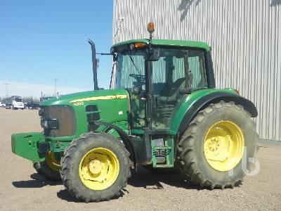 2008 JOHN DEERE 6330 MFWD Tractor
