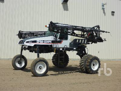 2002 SPRA-COUPE 4640 80 Ft High Clearance Sprayer