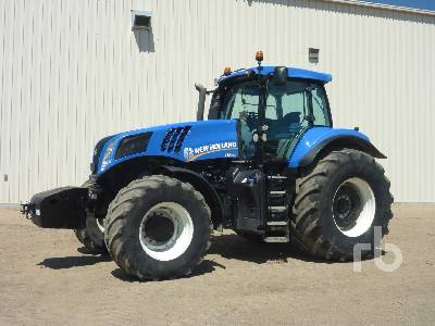 2012 NEW HOLLAND T8.390 MFWD Tractor