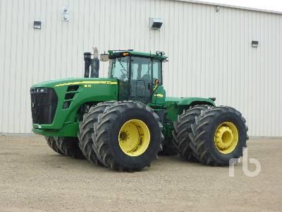 2007 JOHN DEERE 9530 4WD Tractor