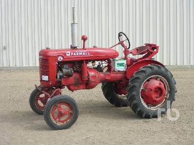 1944 MCCORMICK FARMALL A 2WD Antique Tractor