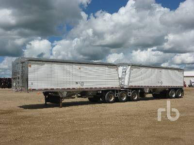2012 WILSON Super B Lead Grain Trailer